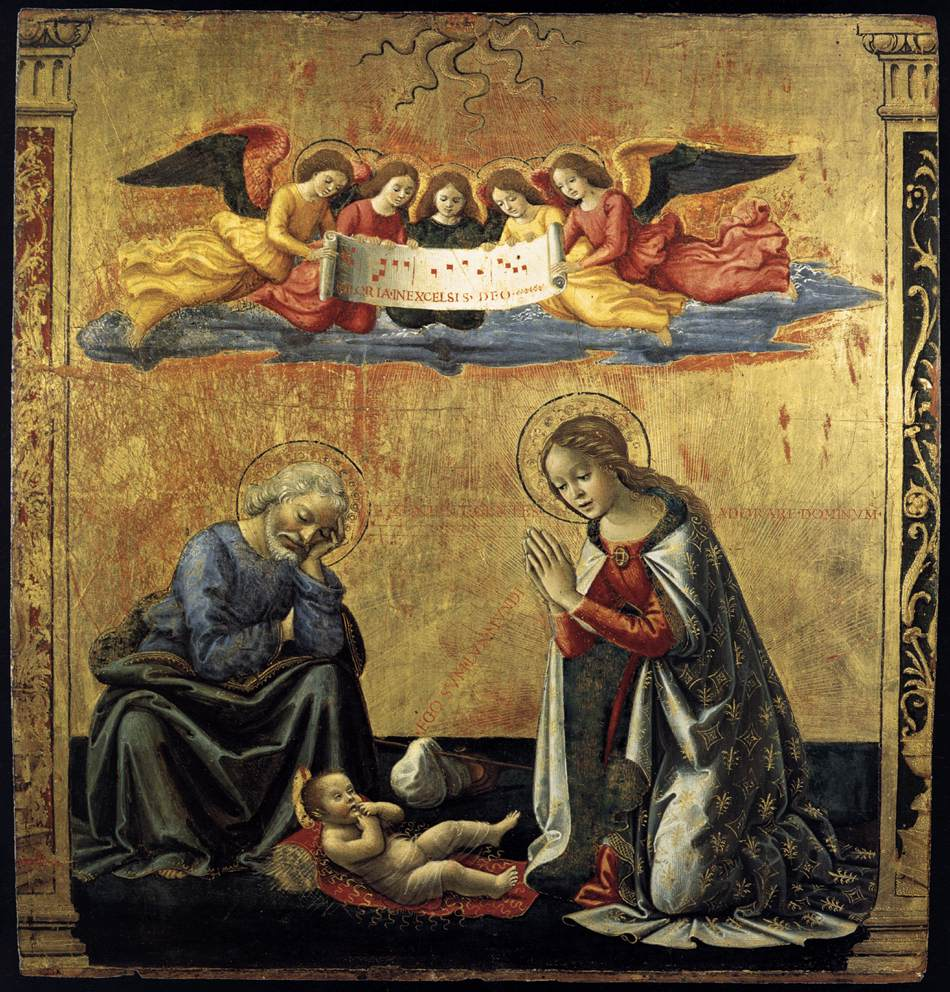 GHIRLANDAIO Domenico The Nativity c. 1492